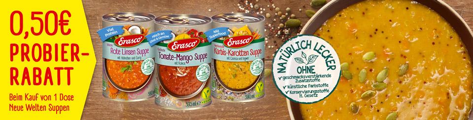 Erasco Neue Welten Suppen