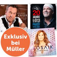 Roland Kaiser, Andrea Berg oder DJ Ötzi Coupon