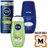 NIVEA Pflegedusche Coupon
