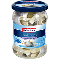Homann Rollmops mit Zwiebeln & Senf Coupon