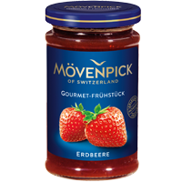 Mövenpick Gourmet Erdbeere Coupon